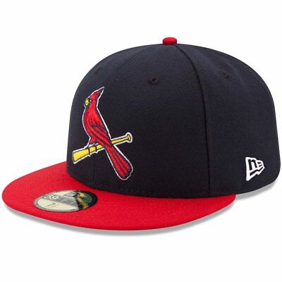 Alternate 5950 Fitted Cap -  ST. LOUIS CARDINALS Alternate 2 New Era 5950 MLB Cap Fitted On Field Game Hat