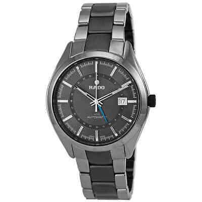 Rado HyperChrome XL Grey Dial Grey Ceramic Bracelet and Case Men's Watch