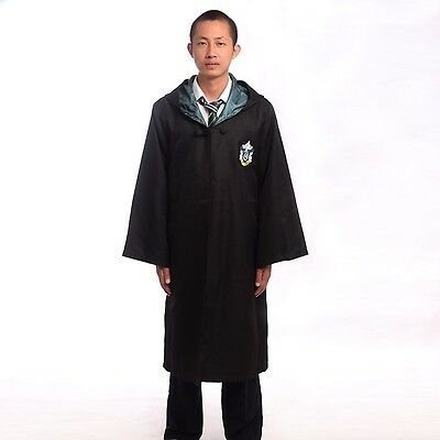 Adult Slytherin Green Costume  Cosplay Cloak Robe - Green Cape Kostüm