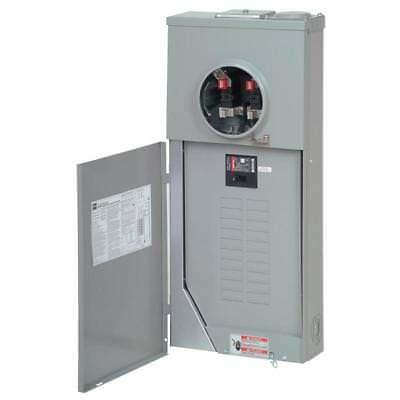Eaton 200-amp Outdoor Main Breaker Panel Electrical Meter 40-circuit 20-space