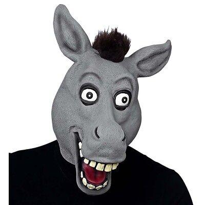 arneval Fasching Bauernhof Muli Kostüm Party Tier Deko 03301 (Esel Maske)