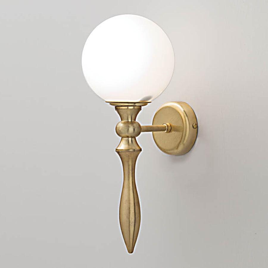 LAMPADA ad INCANDESCENZA stile CLASSICO da specchio muro design arredo luci 28W