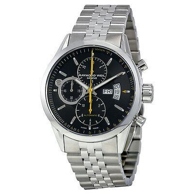 Raymond Weil Freelancer Chronograph Automatic Stainless Steel Mens Watch 7730-ST