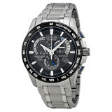 Citizen Perpetual Chrono A-T Eco-Drive Titanium Mens Chronograph Watch