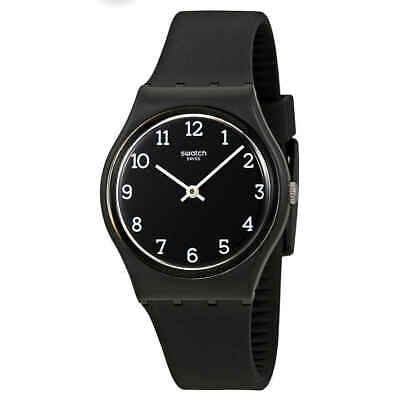 Swatch Original Blackway Black Dial Men's Watch GB301