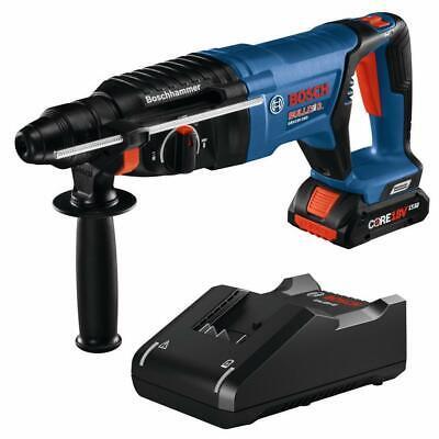 Bosch Gbh18v-26k24 18v Ec Brushless 1 Sds-plus Bulldog Rotary Hammer Kit With