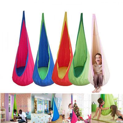 Safety Kids Children Pod Swing Chair Tent Indoor Garden Hanging Seat Hammock