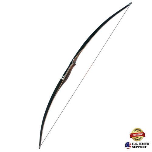 """Farmington Archery 68"""" Black Horn Traditional Long Bow"""