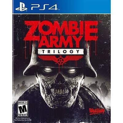 Zombie Army Trilogy Ps4 New Sony Playstation 4