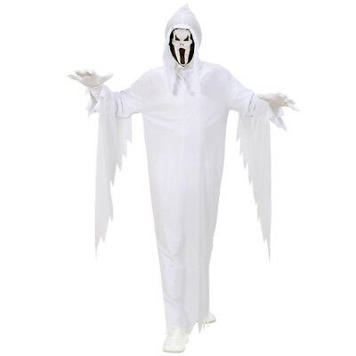KINDER GEISTER KOSTÜM & MASKE # Halloween Karneval Gespenster Jungen Party 0253