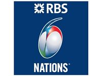 2 x RBS 6 Nations Scotland vs Italy Tickets & 2 night stay in hotel Portamaggiore, with breakfast