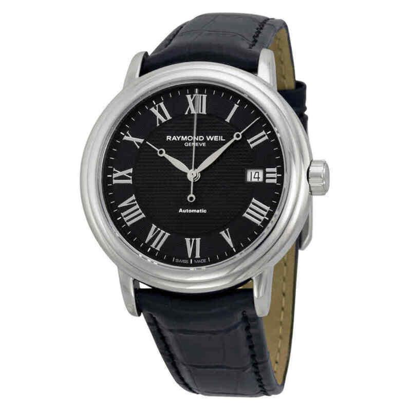 Raymond Weil Maestro Automatic Black Dial Men Watch 2837-STC-00208