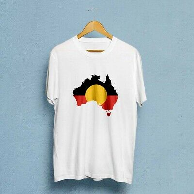 AUSTRALIAN ABORIGINAL FLAG Men's T-Shirt S to 3XL
