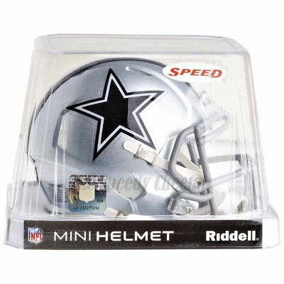 Nfl Mini Helmet - DALLAS COWBOYS RIDDELL NFL MINI SPEED FOOTBALL HELMET