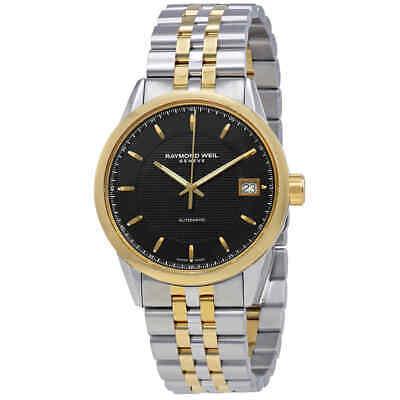 Raymond Weil Freelancer Automatic Black Dial Men's Watch 2740-STP-20021