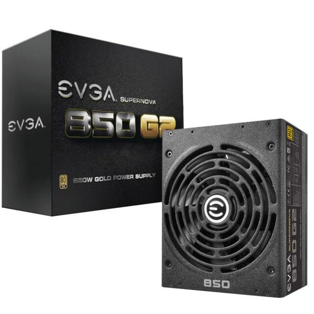 NEW EVGA SuperNOVA G2 Gold 850W Power Supply
