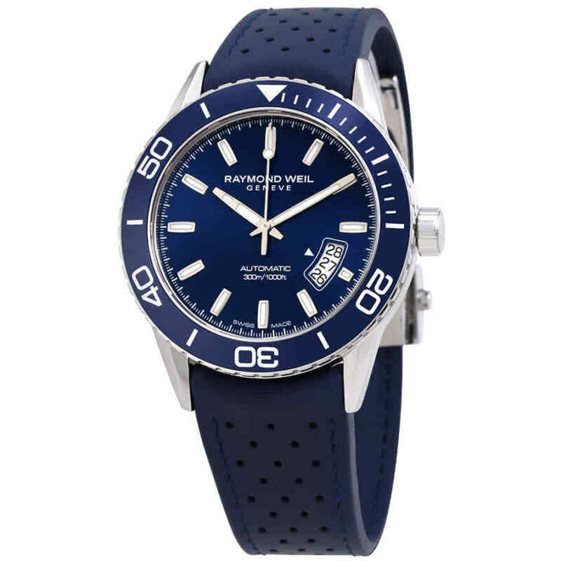 Raymond Weil Freelancer Automatic Blue Dial Men Watch 2760-SR3-50001