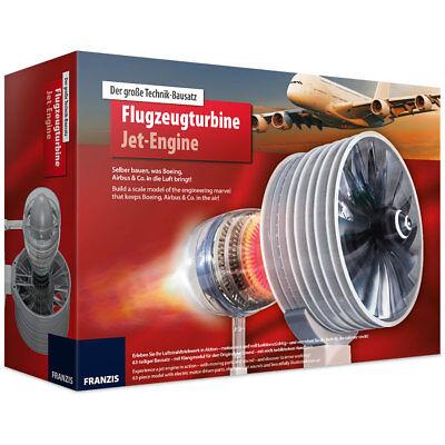 Franzis: Flugzeugturbine Jet-Engine