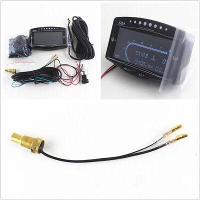 Universal 5in1 Functions 12/24V Car Voltmeter Water Temp/Oil Pressure/Fuel Gauge