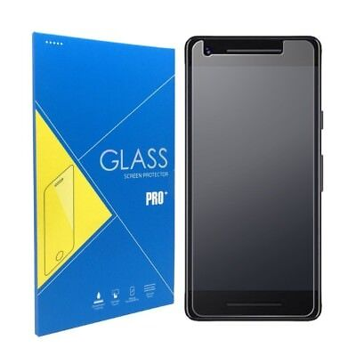 For Google Pixel 2 Flat Surface Premium Clear Tempered Glass Screen Protector  Flat Tempered Glass