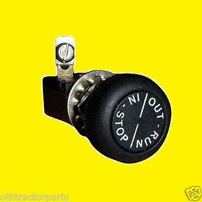 54207db Ih Farmall Magneto Igniton Switch On-off A B C H Hv M Md Mv 400 450