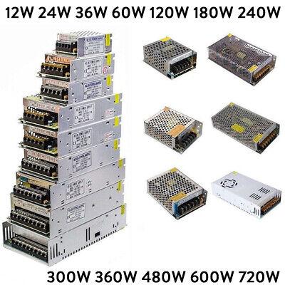 Dc 5v 12v 24v 36v 48v Universal Regulated Switching Power Supply Driver Adapter