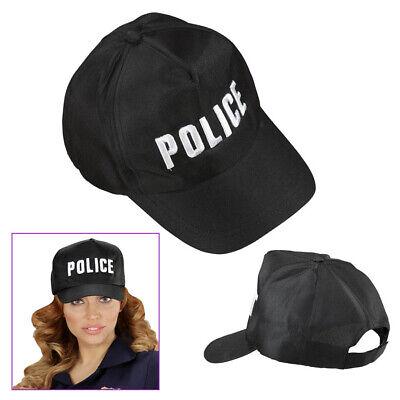 POLIZEI CAP Karneval Fasching Polizist Kostüm Hut Mütze Kappe Schirmmütze 03606 ()