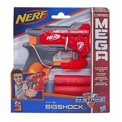 Nerf N-Strike Mega Bigshock Blaster NEW