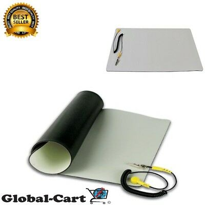Repair Anti Static Esd Mat Kit With Ground Cord 11.8 X 22 Desktop Table Roll