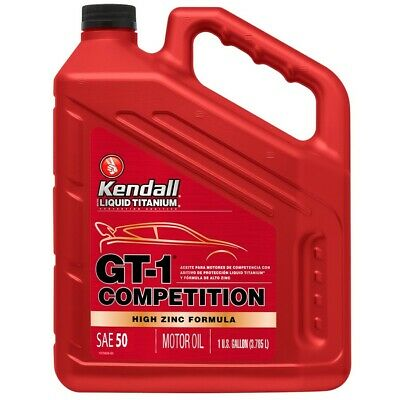 KENDALL 2050_GAL Kendall - GT-1 COMPETITION 20w/50 Oil With Liquid Titanium 1 US