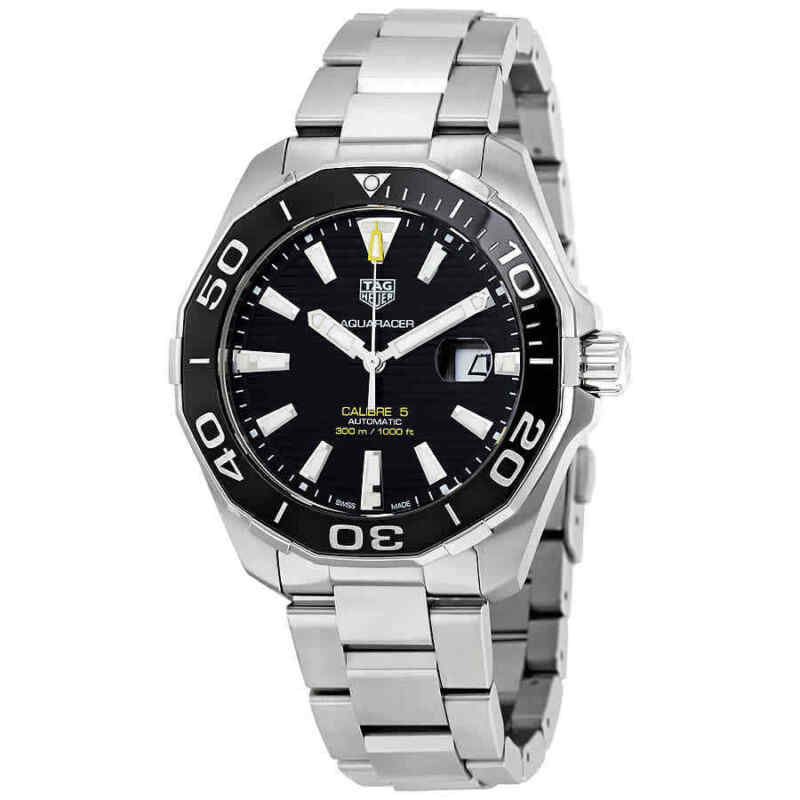 Tag-Heuer-Aquaracer-Automatic-Black-Dial-Men-Watch-WAY201A.BA0927