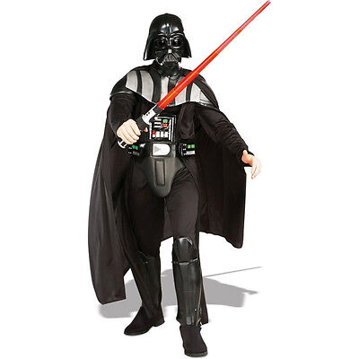 Adult Deluxe Darth Vader Halloween Costume Rubies NEW ()
