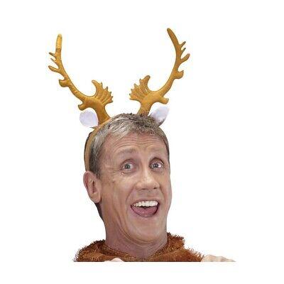RENTIER HAARREIF Ren Elch Hirsch Geweih Reif JGA Weihnachten Kostüm Zubehör (Elch Geweih Kostüm)
