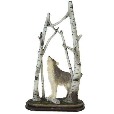 Wolfs Figur Wolf Wölfe Wald Indianer Wild Dekofigur Dekoration Diorama WO121