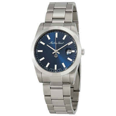 Mathey Tissot Authentic Swiss Made Quartz Blue Dial Men's Watch