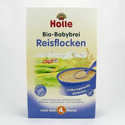(1,32/100g) Holle Bio Babybrei Reisflocken 250 g