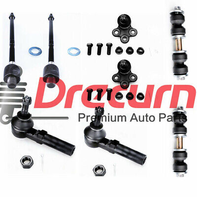 8Pc Front Tie Rod Ends Ball Joint Kit For Buick Chevrolet Oldsmobile & Pontiac Buick Ball Joint