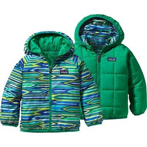 NWTs Patagonia Reversible Puff-Ball Jacket.  Infant Boys -- Size 4T