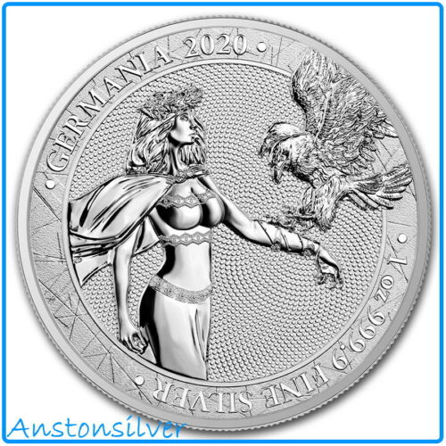 2020 Germania .9999 Silver Round - BU Encapsulated w/COA