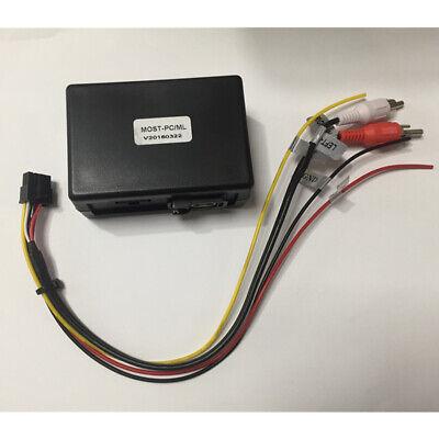 Optisch Audiokabel Fiber Optic Sound Adapter für Mercedes Benz W164 ML R GL SLK