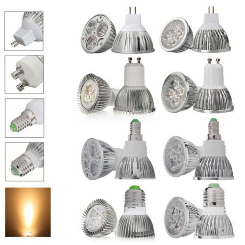 GU10 MR16 E14 E27 3W 4W 6W 8W 9W LED Lampe Leuchtmittel Licht Warmweiss Strahler
