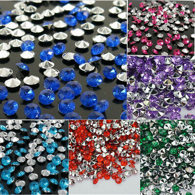 4.5mm Diamond Table Confetti Acrylic Wedding Party Decor Crystals 2017 NEW - Table Confetti