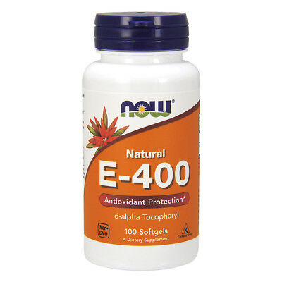 NOW FOODS E-400 da 100 perle - vitamina E-400