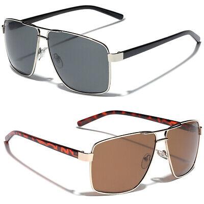 Polar Spex Polarized Men's Fishing Golf Sports Sunglasses Square Aviator (Aviator Fishing Sunglasses)