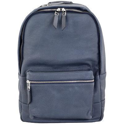 Fossil Estate Blue Leather Men's Backpack MBG9275400