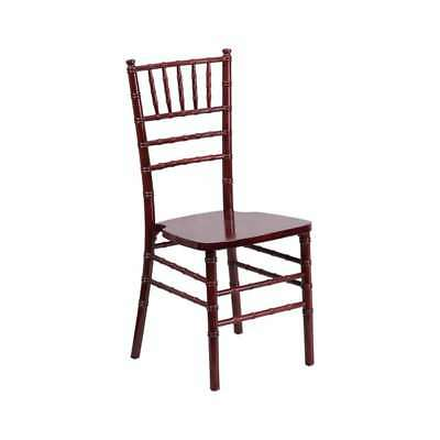 Flash Furniture Flash Elegance Mahogany Wood Chiavari Chair Xs-mahogany-gg