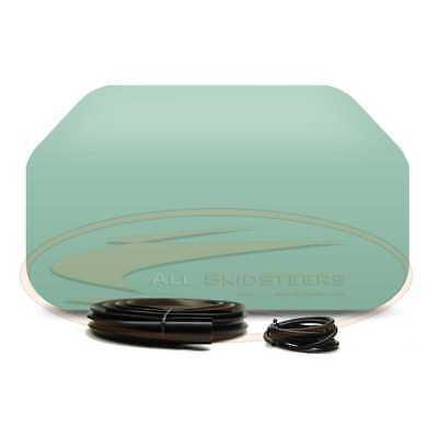 For Bobcat Back Window Glass Kit T110 T140 T180 T190 T200 Skid Rear Seal Cord