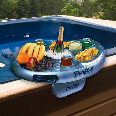 LAY-Z SPA HOT TUB JACUZZI ACCESSORIES CUP DRINKS HOLDER & SNACK TRAY