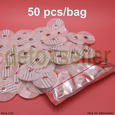 Disposable Electrode Pads For Portable Handheld Easy Home Ecg Ekg Heart Monitor