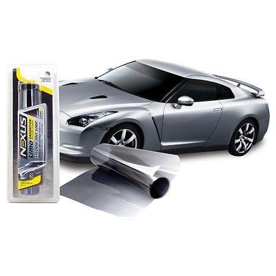 Pellicola Parasole per parabrezza Auto Adesiva nera sfumata 20x150cm NEXUS